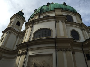 Vienna Church of St Peters
