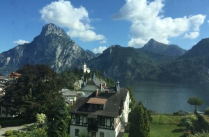 Train view austria