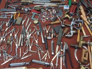 Vienna flea market tools