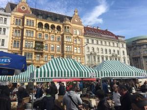 Flea market Vienna Naschmarkt