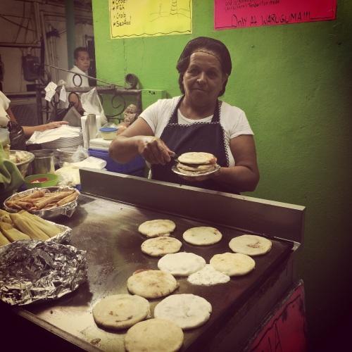 El Salvador food Belize pupusas