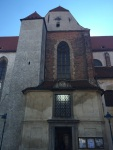 Church of the presentation of the Virgin Mary Cesky Budejovice Czech Republic